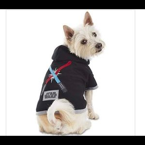 Star Wars Light Up Hoodie For Pets Sz. Med.